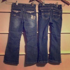 Pair of Girls Arizona Jeans